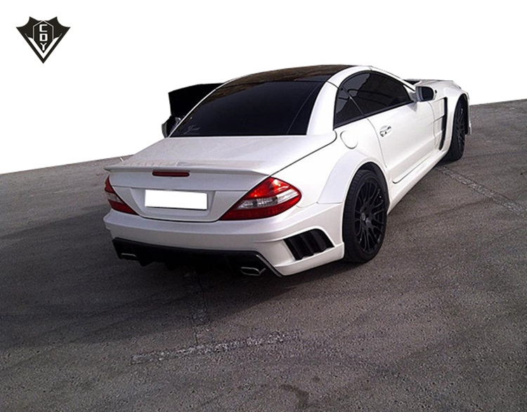 Mercedes benz SL R230 misha wide body kit