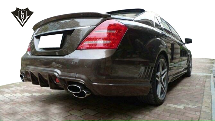 Mercedes s calss w221 wald body kit 2006-2013