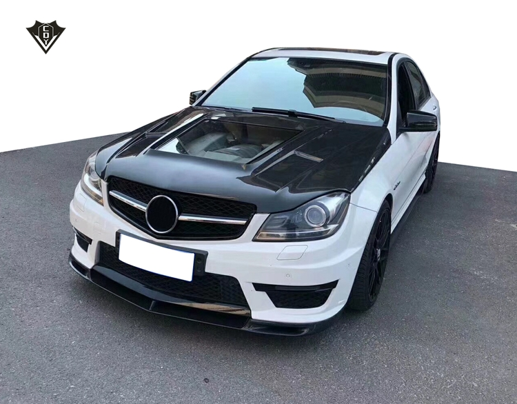 2012-2014 mercedes benz w204/c63 carbon hood new style in 2018