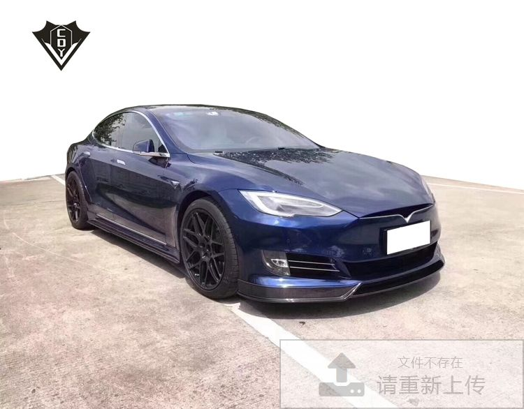 Tesla model s body kit revozport cf tesla body kit